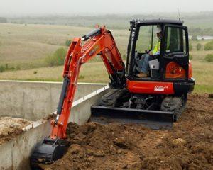 Kubota KX057-4 Compact Excavator