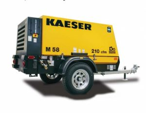 Kaeser M58 Mobile Compressor