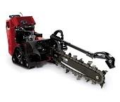Toro TRX Trencher available for rent